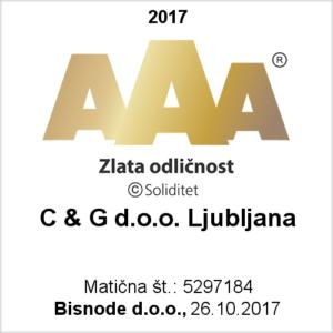 AAA Bonitetna ocena